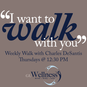 Don't forget to keep walking with us, each Thursday throughout the year!