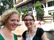 Your Walking Challenge coordinators share their walk to the Waterfront on Twitter @GUWellness