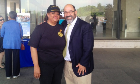 Charles DeSantis & Surgeon General Regina Benjamin