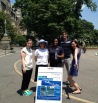 GPPI Wonky Walkers getting ready for the Walk with Charles. Get those bonus points! (via Twitter)