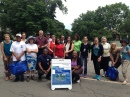 Week Four's Walk With Charles attendees