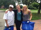 Week Four's raffle winners take home a beach cooler, blanket and book courtesy of United Healthcare